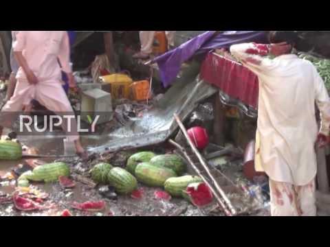 Pakistan: Dozens dead in double blast at Parachinar market place
