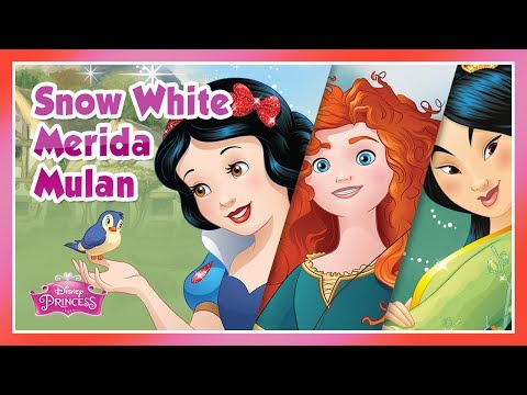 Disney Princess: Snow White, Merida and Mulan Story - for KIDS