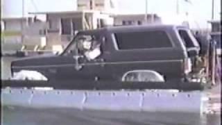 Ford Bronco Pontoon Boat
