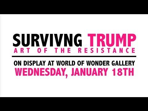 Surviving Trump: the Art of Resistance Exclusive Interview with Trevor Wayne!
