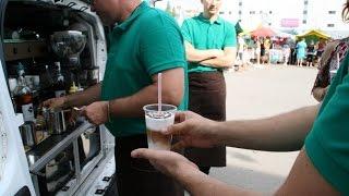 видео Мобильная кофейня | Лучшие идеи бизнеса