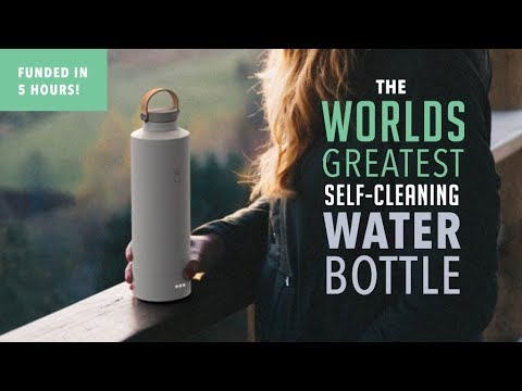 Final days on Kickstarer: The Luma Bottle | A Self-Cleaning Reusable Water Bottle