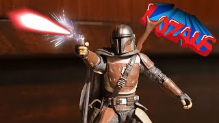 MANDALORIAN Stop Motion Action Video