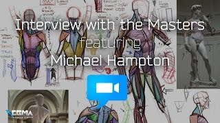 CGMW FIGURE DRAWING Live Q A With Michael Hampton