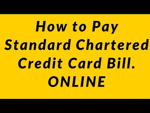 How To Pay Standard Chartered Credit Card Bill. ONLINE |2020|