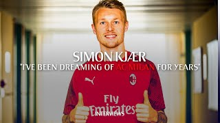 "Interview | Simon Kjær: ""i've Been Dreaming Of Ac Milan For Many Years"""