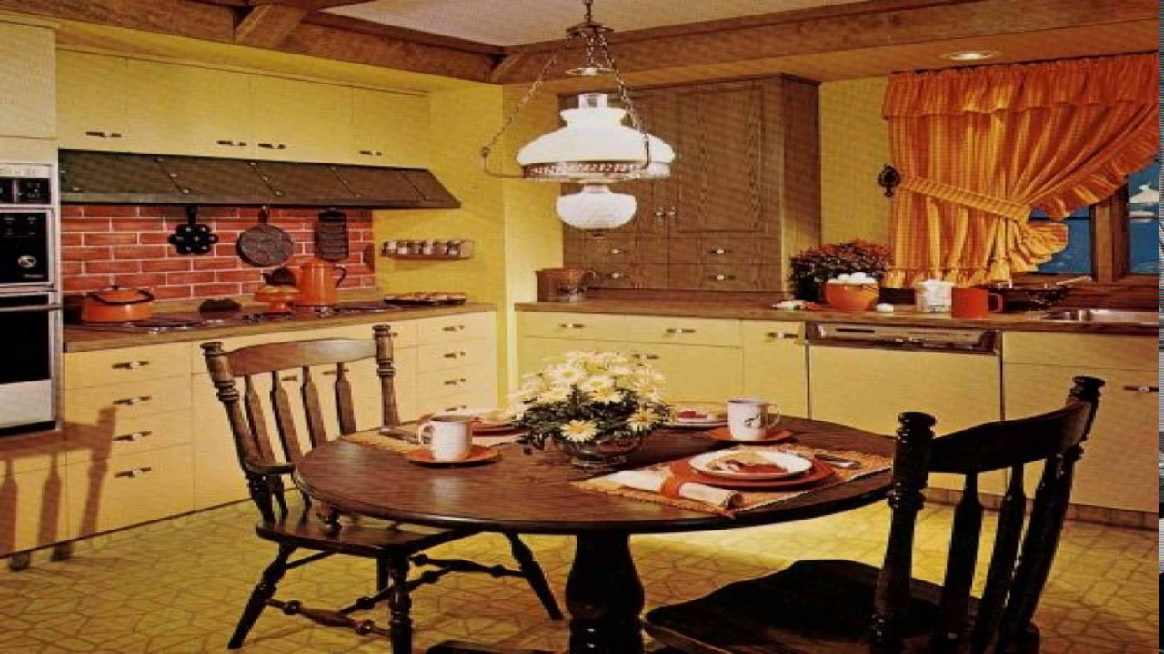 1970 kitchen design youtube for Kitchen design 70s