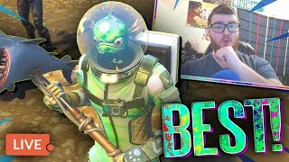 CHOP JR + LEVIATHAN = CLEANEST COMBO IN FORTNITE! - New Skin HYPE! + Road To 200+ Wins