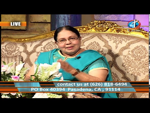 The Light of the Nations Rev. Dr. Shalini Pallil  07-09-2019