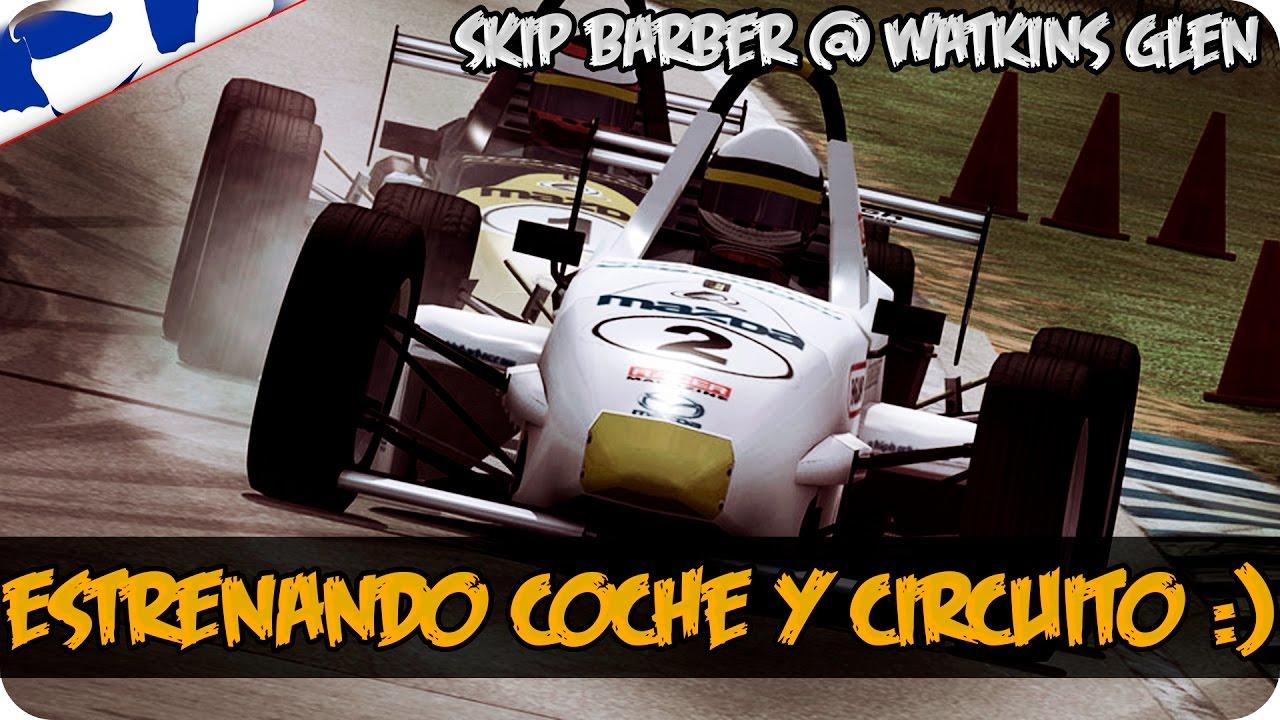 Circuito Barber : Iracing nuevo coche nuevo circuito pa mi skip barber