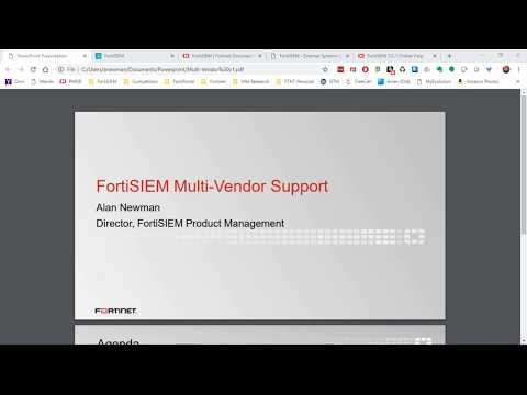 fortisiem-multi-vendor-support-|-siem---network-security-information-and-event-management-solution