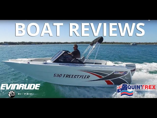 NEW Quintrex 530 Freestyler - Boat Reviews on the Broadwater | Boat Review