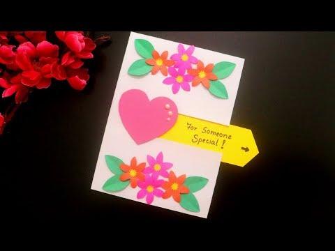 Pull Out Birthday Card Making Tutorial |  Handmade Birthday Card DIY