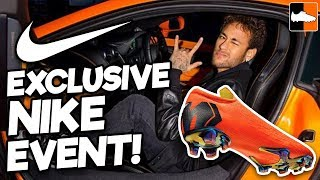 Meeting Neymar, Hazard & Sanchez!! Nike Superfly 360 Event