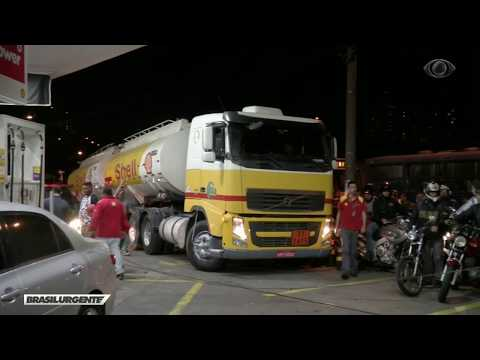 Postos Começam A Receber Combustível Em São Paulo