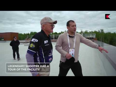 """""""The greatest shooter of all time"""" from USA at Kalashnikov shooting club"""