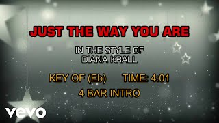 Diana Krall - Just The Way You Are (Karaoke)