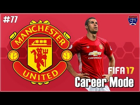 FIFA 17 Manchester United Career Mode: UEFA Super Cup vs Manchester City #77 (Bahasa Indonesia)