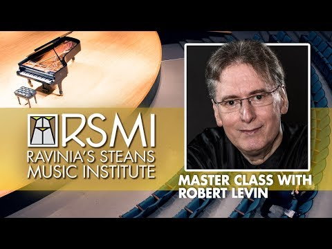 Ravinia Steans Music Institute Masterclass: Robert Levin