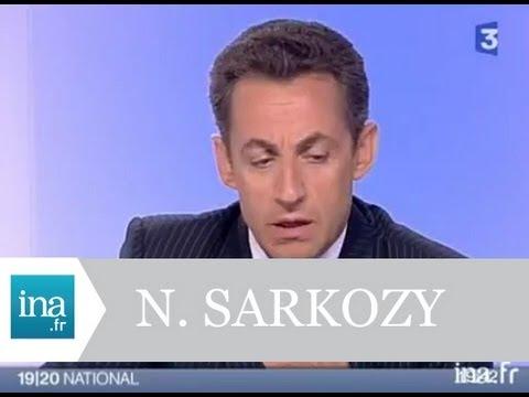 Interview Nicolas Sarkozy 3 mai 2007 - Archive vidéo INA