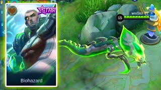 YU ZHONG BIOHAZARD NEW DECEMBER STARLIGHT SKIN MOBILE LEGENDS 🟢 MLBB