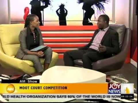 GHANA LAW SCHOOL MOOT COURT COMPETITION PROMO ON JOYNEWS TV