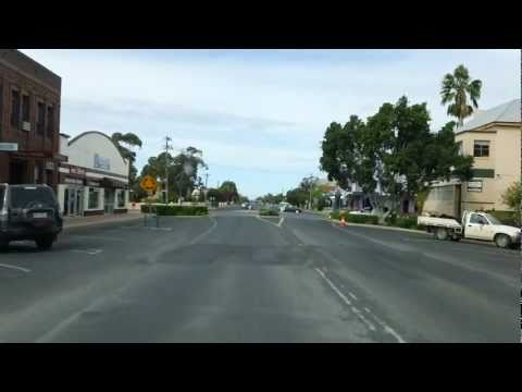 Narrabri New South Wales Australia A Drive Through