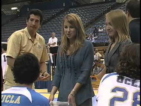 Sports medicine intern plays key role in men's volleyball team