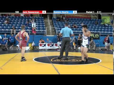 160 Jack Zimmerman vs. Dominic Huerta