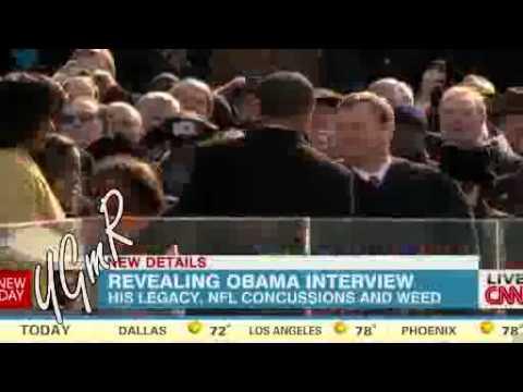 Obama says marijuana 'no more dangerous than alcohol'