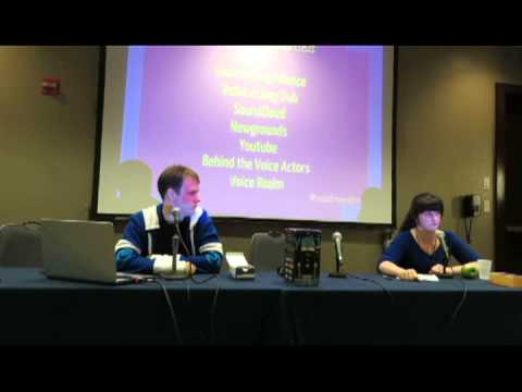Voice Acting Industry: How to get In!   Anime Midwest 2013