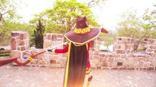 megumin explosion in real life