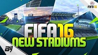 FIFA 16   NEW STADIUMS!!