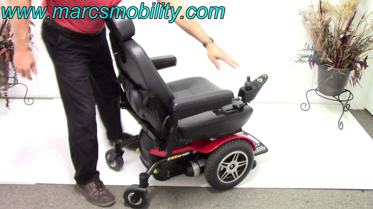 competitive price 0e49f 11255 Pride Mobility Jazzy Elite HD Used Power Chair  871