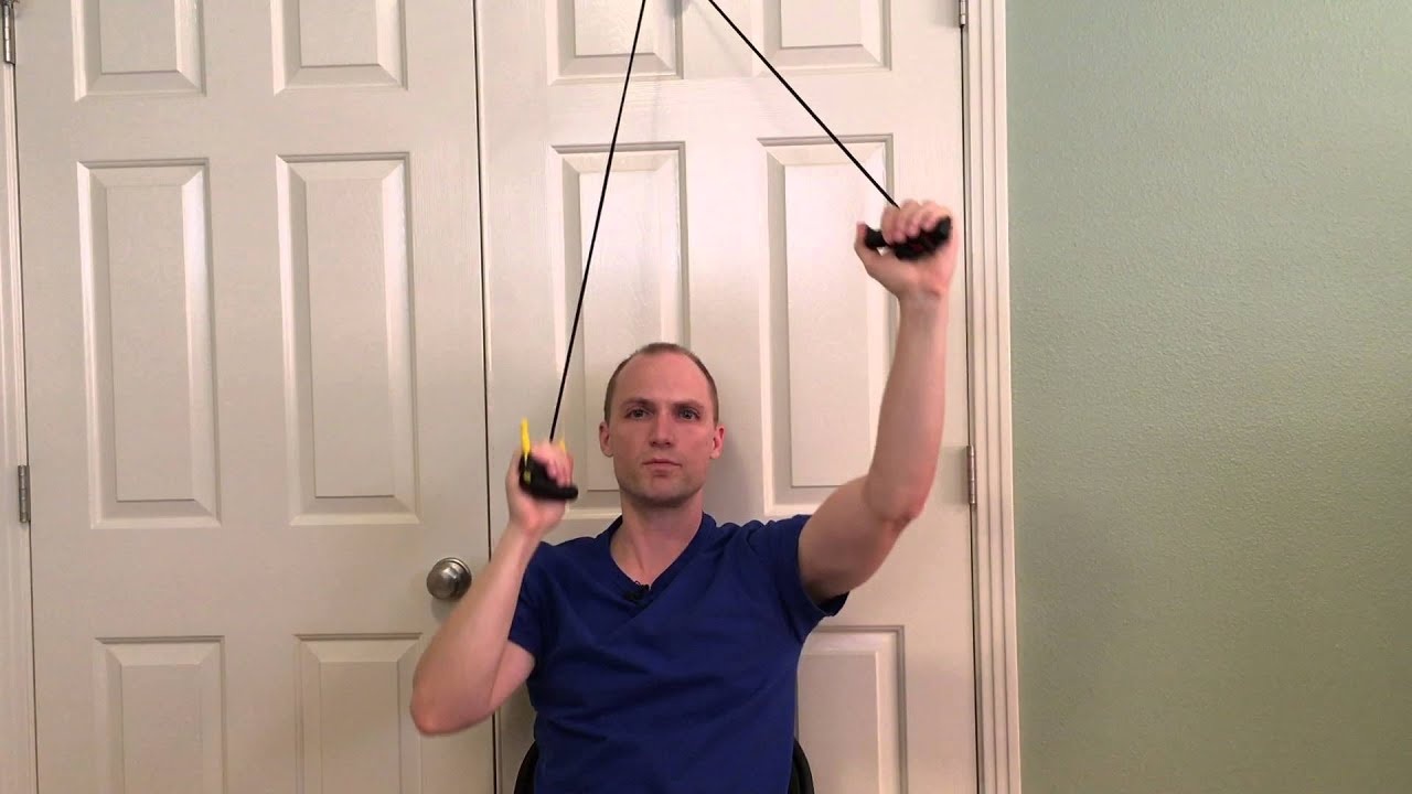 Charming How To Use Shoulder Pulleys To Regain Shoulder Motion