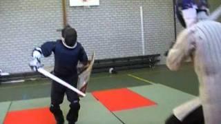 Stefan (longsword) vs. Matthys (sword and shield)