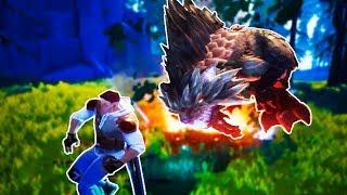 FLAME BEAVER MONSTER! - Dauntless Gameplay (Kid Friendly Fun Gaming!)