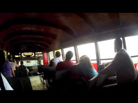Bus concert in American Samoa