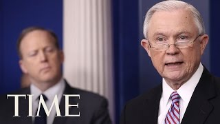 Justice Department Seeks To Hold Back Grants To Sanctuary Cities | TIME
