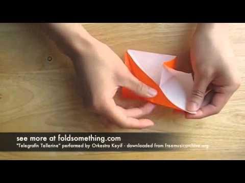 Оригами - птица
