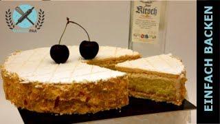 Kirsch Torte Zuger Art I Kirschtorten Rezept I Einfach Backen - Marcel Paa