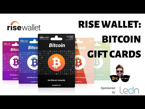 Rise Wallet - Buy Bitcoin Easily Via Gift Cards