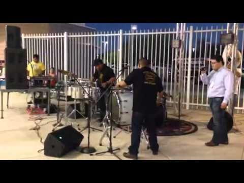 Techno Banda Latino Show at Naranjeros game, 9/21/14