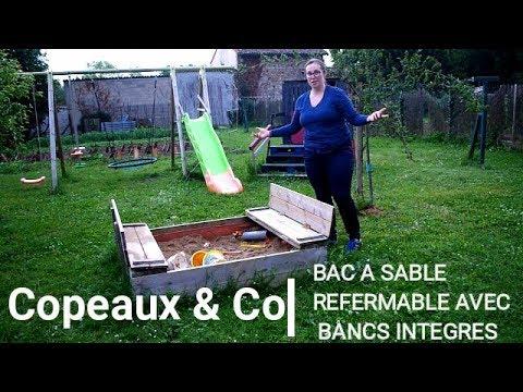 Idée Diy Le Bac à Sable Pliant Avec Bancs Intégrés Youtube