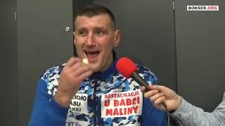 Mariusz Wach po walce z Arturem Szpilką #SzpilkaWach