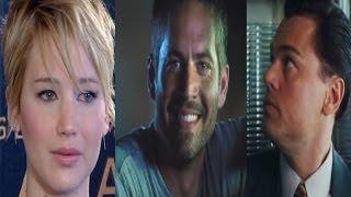Lawrence, Walker y Dicaprio, estrellas del año