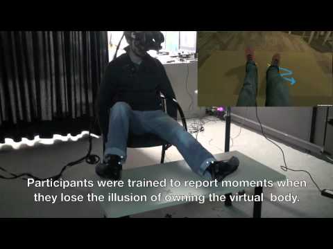 Virtual Body Ownership Illusion - Comparing Visual-Tactile and Visual-Motor Stimulation