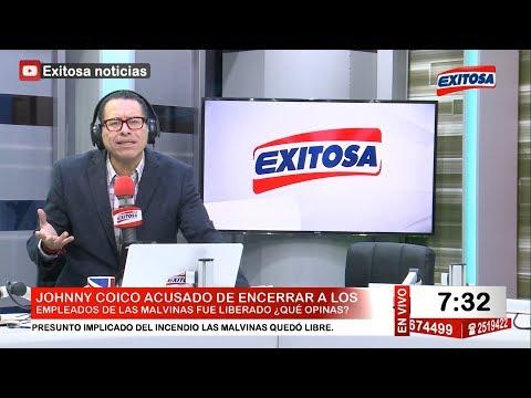 Phillip Butters en Exitosa Noticias Programa Completo 1 de julio de 2017