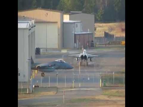 F-15 Eagles | Real-World Active Alert Scramble 4-17-14
