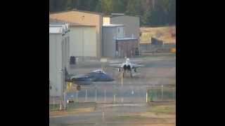 F-15 Eagles | Real-World Active Alert Scramble 4-17-14
